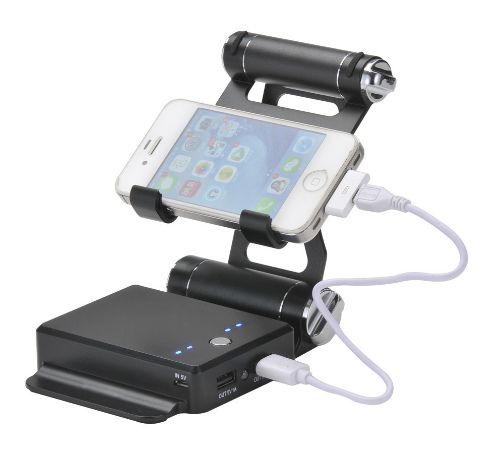 Smart phone battery charger holder 20000mah power bank