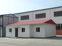Slope roof steel structure houses prefabricated homes