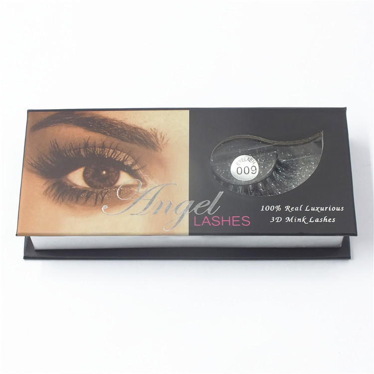 Brand new strip 3d mink fur eye lashes with high quality