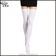 White 15-21mmHg Open Toe Anti-embolism Stockings