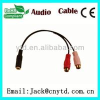 Good Speed shielded audio power cable High Quality
