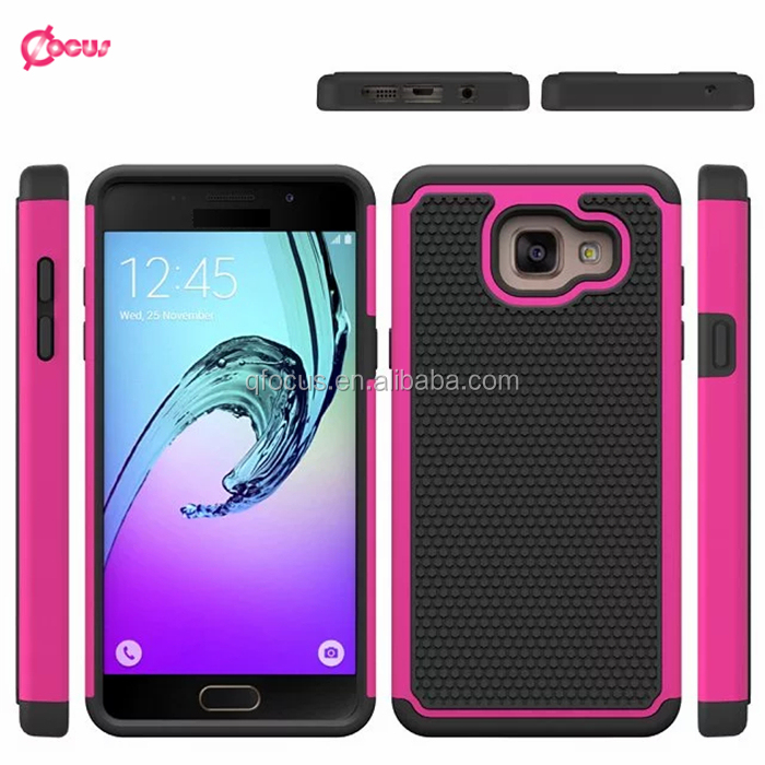 New coming 3 in 1 combo case for samsung A3 2016, football design defender case for samsung A310