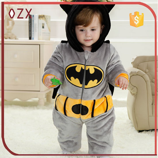 baby animal onesie baby rompers wholesale winter clothes