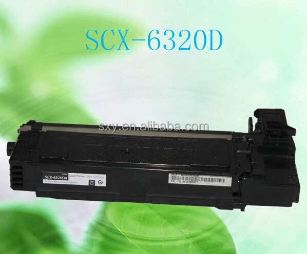 Top quality compatible laser toner cartridge consumables SCX-6320 for Samsung priner