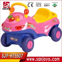 Rc four wheel drive car, kids R/C ride on toy kids to drive car High quality children car with led light HT-5507