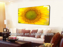 multi-panel sunflowers canvas art printing drop shipping