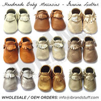 baby moccasins, handmade leather baby moccasins, cow leather moccasins