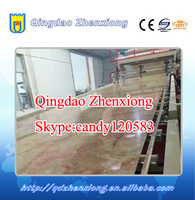 Plastic PVC imitation marble sheet/plate production line