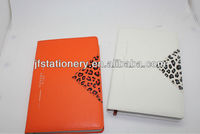 2014 PU soft cover diary with any logo embossed