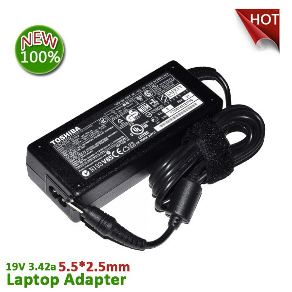 19V 3.42A 65W Laptop AC Adapter / Notebook Charger / Power Supply Cord for Toshiba Gateway Acer PA-1700-02 / PA-1650-02