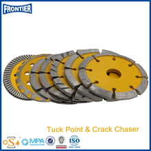 High precision hot sell diamond cutting tool tuck point blade
