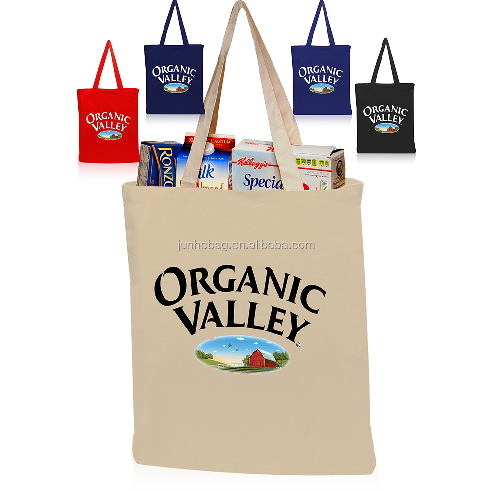 Promotion Recyclable Shopping Cotton Tote Bag