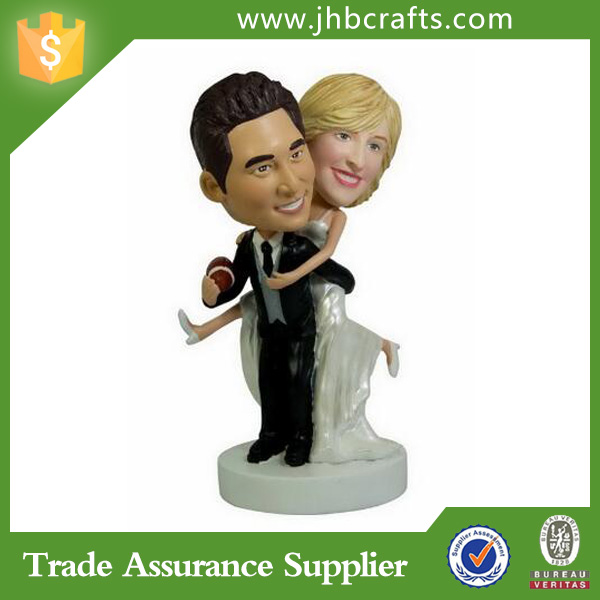 Personalized Bobbleheads Wedding Bobble Head Resin Bobble heads