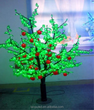 courtyard apple tree light decor