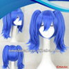 2014 New Fashion Style Hair Extensions Cosplay Wig for dark blue cosplay wig