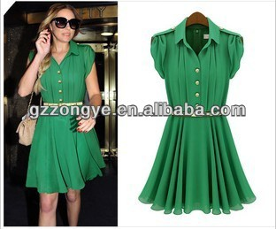 Ladies official dresses,ladies chiffon dress,lady's sleeveless chiffon dress manufacture OEM service