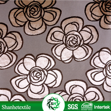 Cheap printed velour fabric and textile warehouse