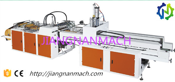 JIANGNAN HDPE LDPE PE Biodegradable Garbage T-Shirt Shopping Plastic Bag Making Machine