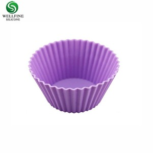 Wholesale Large Rectangular Silicone muffin Baking Cups
