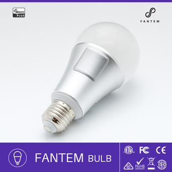 Fantem Smart Bulb Lighting Dimmable Multicolored Color Changing home lighting 9w z wave smart bulb