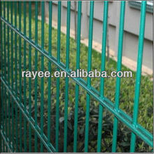 Galvanized and Powder coated Double wire panels 6/5/6 / Mesh security fences