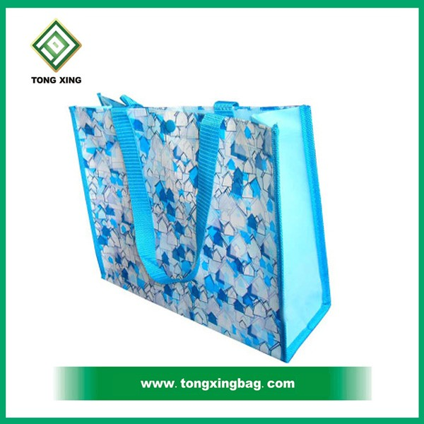 Custom size cheap waterproof pp non Woven shopping Bag