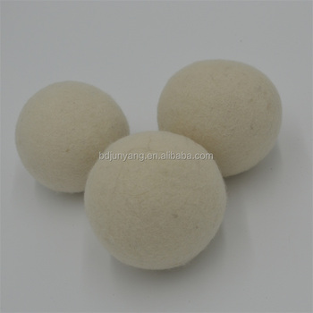 China supplier wholesale Organic wool felt laundry dryer ball