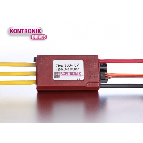 K4604 KONTRONIK JIVE 100+ LV BRUSHLESS ESC (VERSION 13)