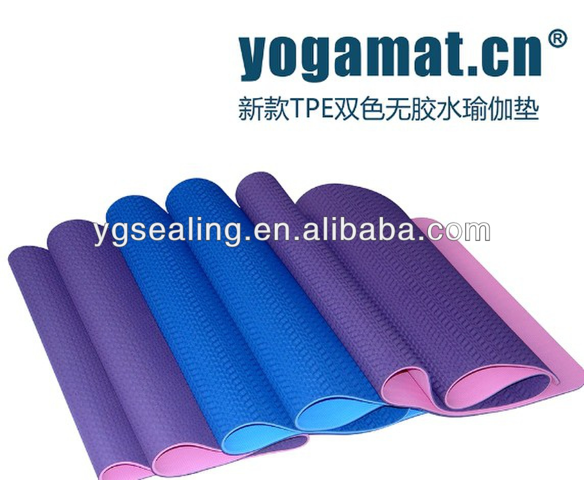best quality pvc yoga mat OEM best quality 6p free made in china,eco friendly yoga mat