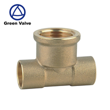 Gutentop High quality lead free brass hose fittings pipe fitting elbow dn15