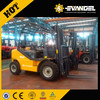 YTO rt forklift 3 tons with rough tire for sale