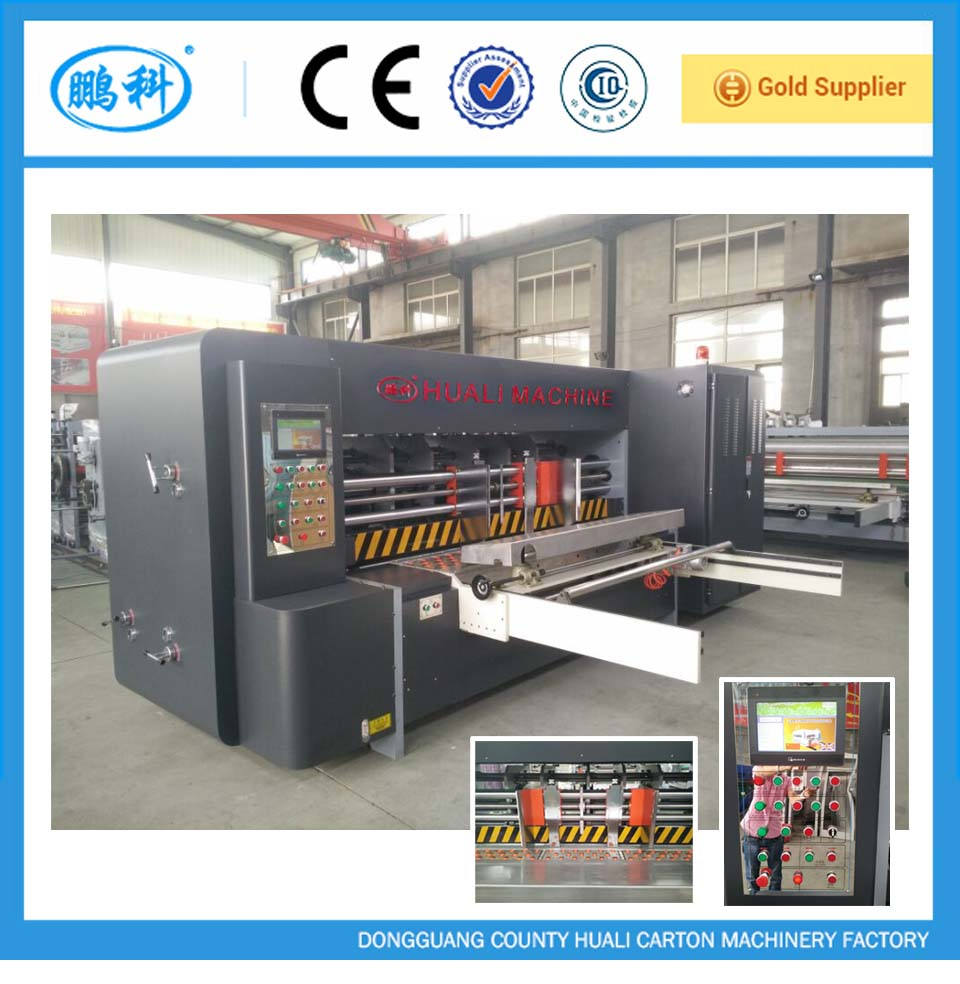 slotting machine for carton making, corrugated cardboard automatic slotter machine