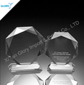 Classical Crystal crystal octagon plaque trophy