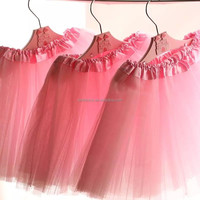 Toddler Party Decoration Short chiffon tutu dress for girls