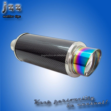 New style high quality factory price auto part Akrapovic carbon fiber exhaust muffler in China