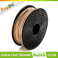 Oem PLA Filament 1.75MM Wood Consumable For 3D Printer