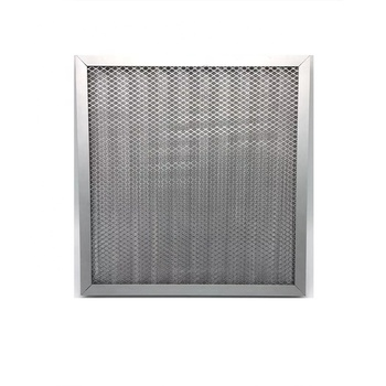 China durable fashion metal mesh air handling unit air filter