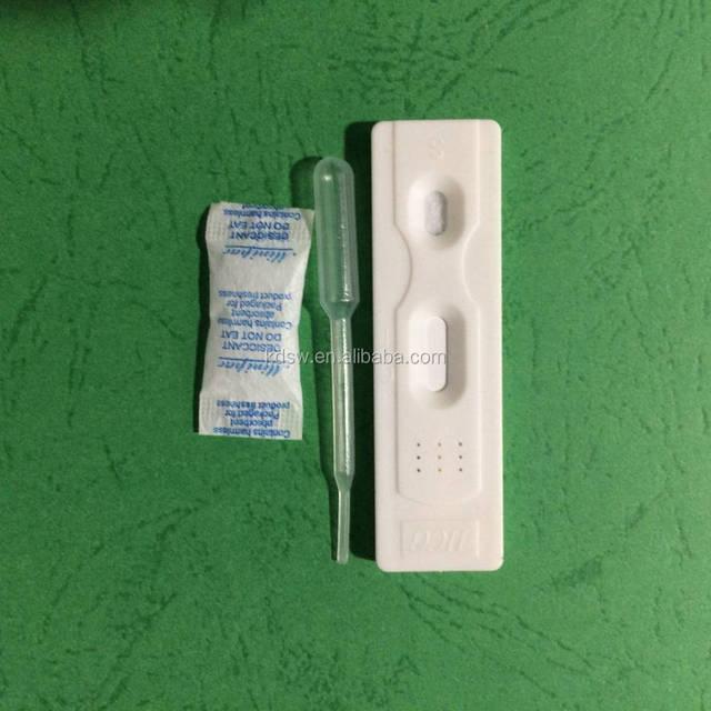 Pregnancy test cassette type for women