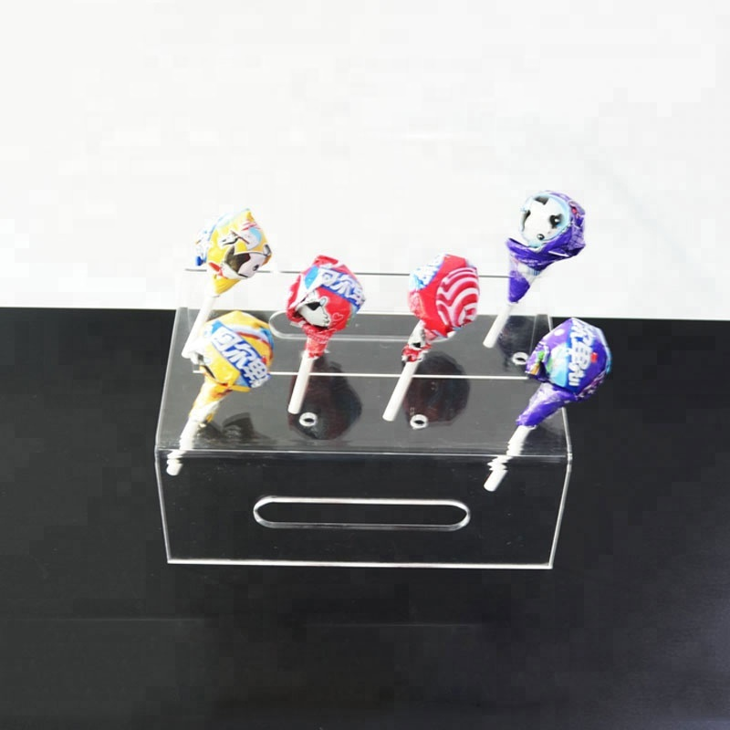 Wholesale Acrylic Cupcake Cake Muffin Dessert Push Pop Display Stand Holder for Wedding Birthday Party