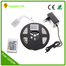 CE ROHS IP65 5 M SMD5050 rgb led strip,led light strip kit,led stripe