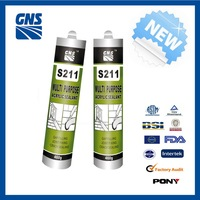 GP silicone sealant rubber adhesive glue
