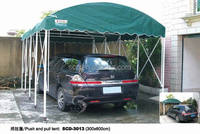 customized movable car shelter ,parking,garage tent
