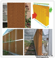 Huasheng 7090 Layer Shed Factory Greenhouse Evaporative Cooling Pad for Poultry Farm