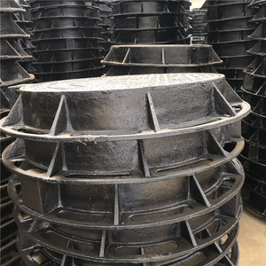 High Performance Heavy Duty Ductile Iron Manhole Cover Cast Iron Drain Grate Trench Drain Grating Cover
