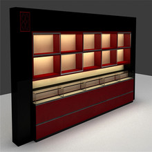 wooden jewellery kiosk and jewelry showroom decoration furniture for showcase for jewelry store