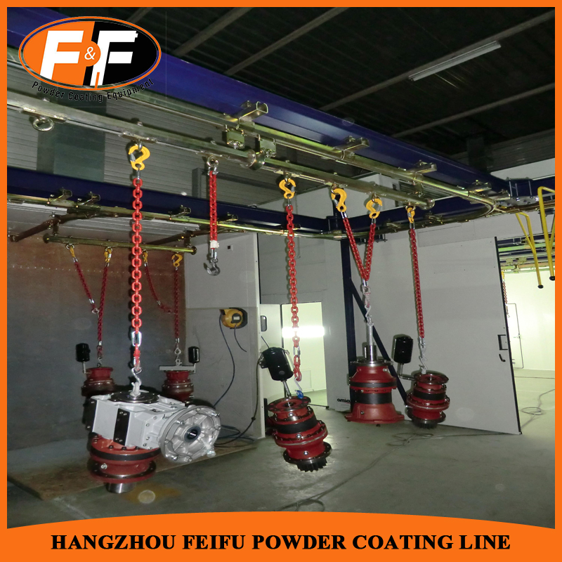 Quick Color Change Powder Coating Line Manufacturers