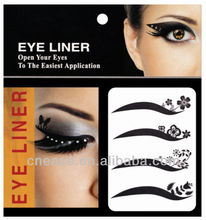 EL002 hot sale eye tattoo stickers ,eye shadow sticker,eyeliner sticker