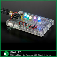 ws2811 IC 5mm 8mm rgb pixel led clear body