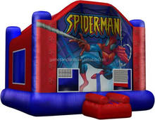 spiderman bouncer inflatable,popular theme inflatable castle A2102