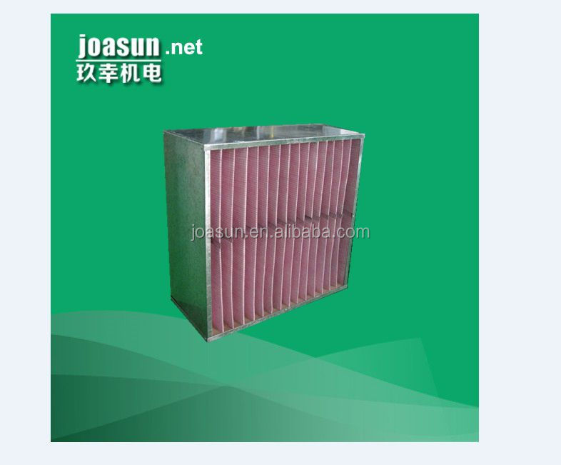 Box Medium and Sub-HEPA air Filter for cleanroom